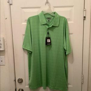 Men's Pebble beach performance XXL golf shirt